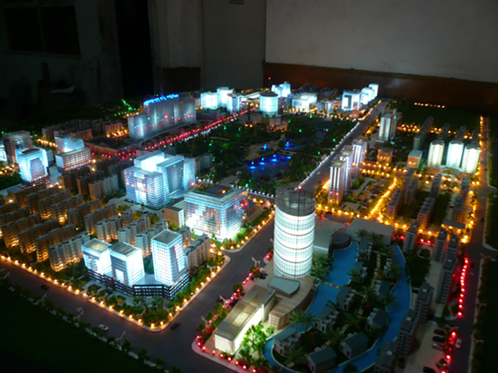 03 Miniature Scale City Model 1to700 Jpg