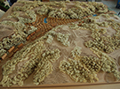 Mountain Resort Community Wooden Planning Model