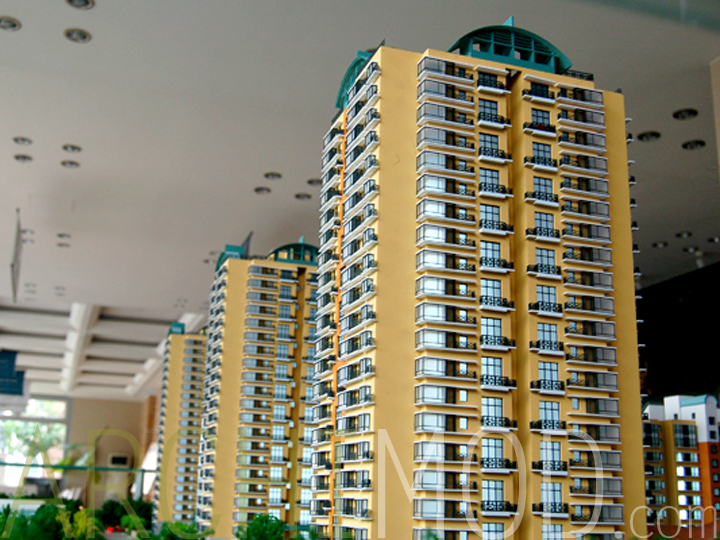 Archimod apartment tower models for The model apartment