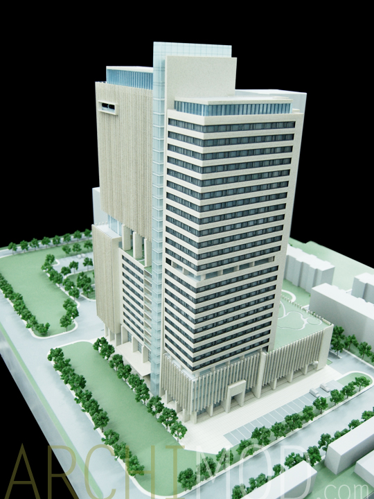 archimod high rise office tower models