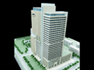 Office Building Scale Model at 200 Scale