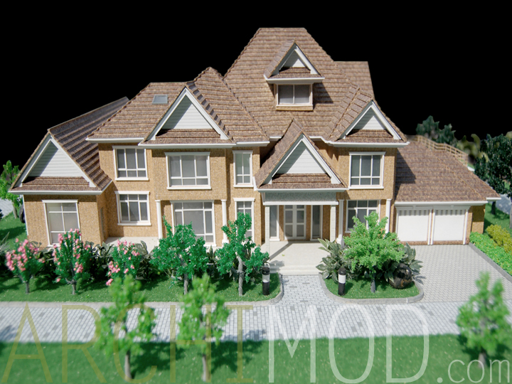 08 dream house scale modeljpg - Dream House Model