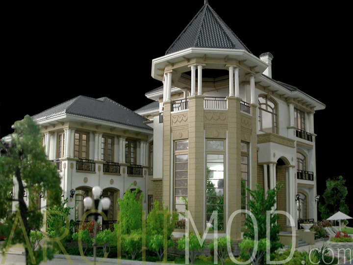 Archimod house models for Luxury home models