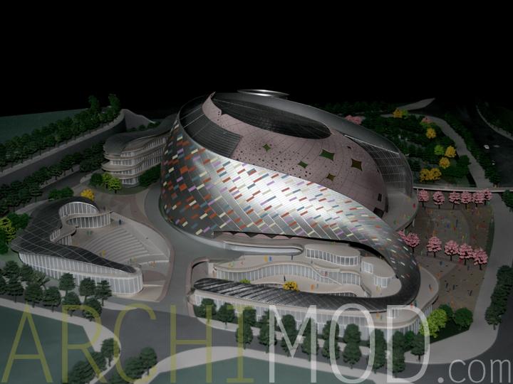 ... 13 Stadium Architecture Model ...
