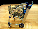 Shopping Cart Concept Scale Model