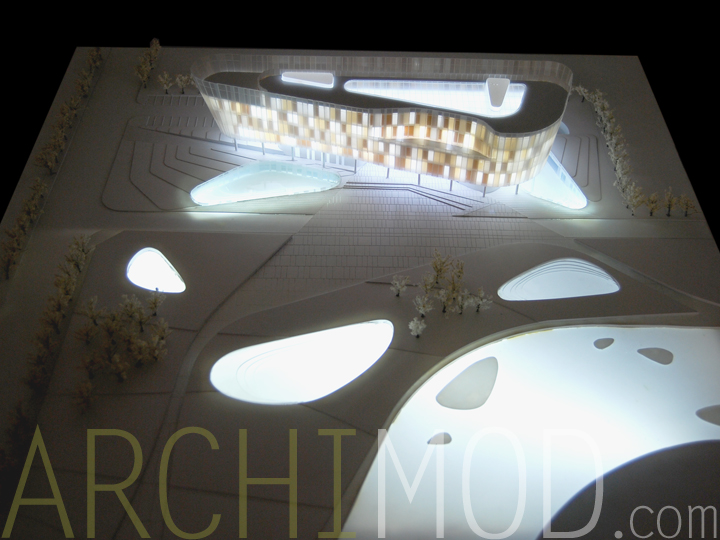 07 Architecture Scale Model Lights 1to300 Jpg