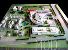High School Scale Model at 500 Scale